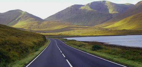 Road in Scotland