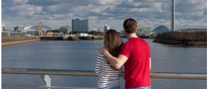 Glasgow river clyde image