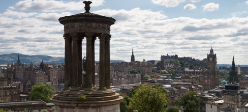 View of Edinburgh from Calton Hill